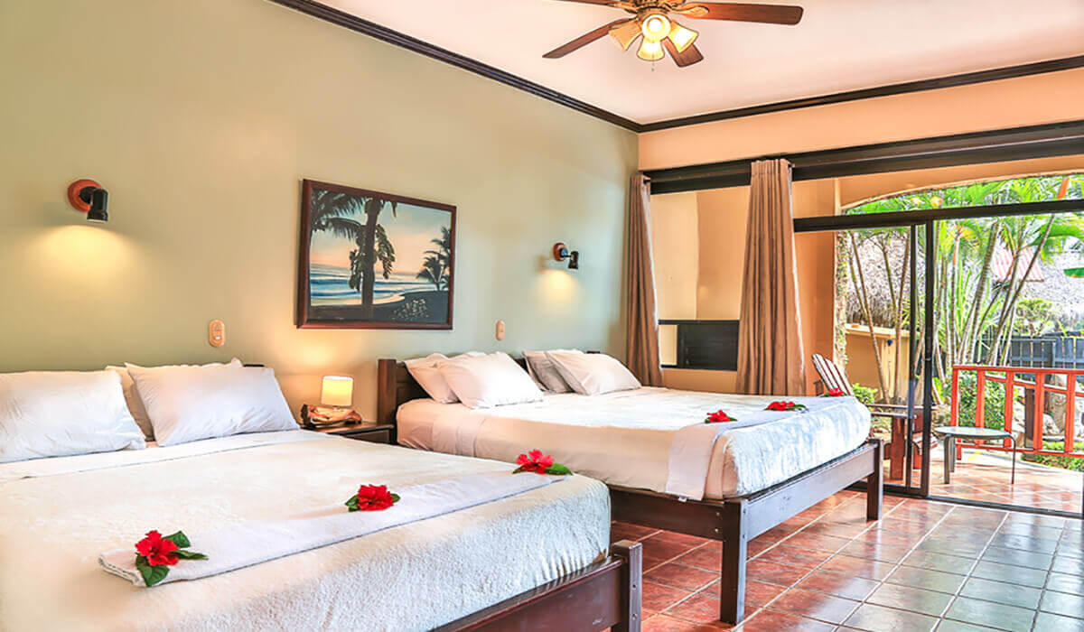 backyard hotel playa hermosa jaco beach costa rica deluxe room